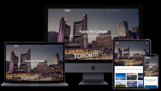 Apply For Canada Mockup